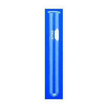 Test Tubes, Marking Spot, Rim, 13x100mm, Kimax®, 72/pk