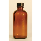 Amber Nrw Mouth Bottle, 120ml, Phenolic Cap