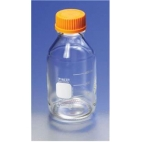 Bottle, Media, Pyrex®, 100ml, Screw Cap, Seal Ring