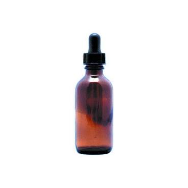 Round Amber Dropping Bottle, 4oz/120ml