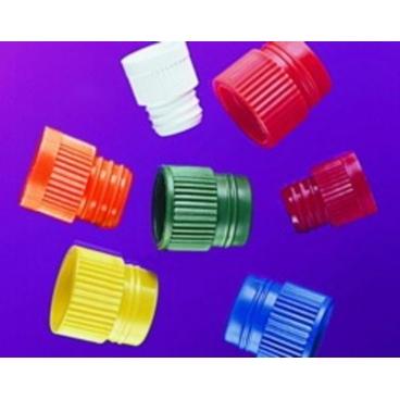 Plug Caps,13mm,green (fit Tubes 150-55214+15) 100/pk