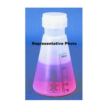 Polypropylene Wide Mouth Flask W/screw Cap, 500ml