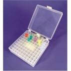 Storage Box, 100-Well, 1.5-2.0ml Microtube, Natural