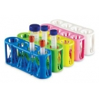 Rack, Multi-Size Tubes, Pink, Holds Four 5-50ml Tubes, Adapt-A-Rack™