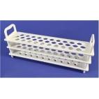 Test Tube Rack, Pc, Holds 31-16mm Tubes, White