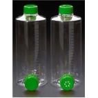 Roller Bottle, Vented Cap, Sterile, Grad, Treated, 850cm^2