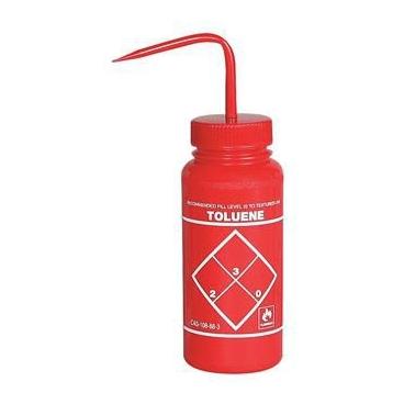 "Wash Bottle, Ldpe, 500ml, ""toluene"""