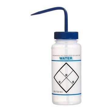 """Wash Bottle, LDPE, 500ml, """"Water"""""""
