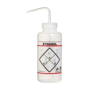 """Wash Bottle, LDPE, 500ml, """"Ethanol"""""""