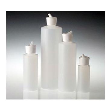 Hdpe Dispensing Bottle, Flip Top Cap, 2oz/60ml