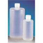 Bottle, Narrow Mouth, 125ml, Rigid HDPE, FDA Food Grade