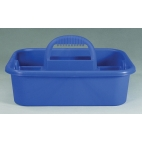 Tote, Utility Carrier, Blue, Built-In Handle