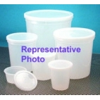 Specimen/Storage Container, 120ml, With Lid, HDPE