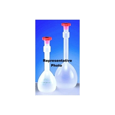 Polypropylene Volumetric Flask W/stopper, 500ml