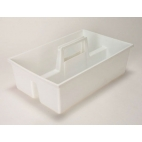 "Carrier Tray, Autoclavable Pp, 15x9.5x4.5"", Easy Clean"