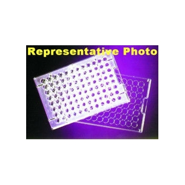 Microtiter Plate, 96 Well, 375uL, Flat-Bottom