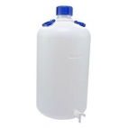Carboy, 50L, Food Grade, HDPE, Nm, w/Spigot & O-ring