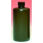 Rigid Amber Hdpe Narrow Mouth Bottle, 500ml, Fda Food Grade
