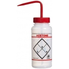 "Wash Bottle , LDPE, 500ml, ""Acetone"""