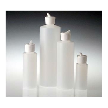 Hdpe Dispensing Bottle, Flip Top Cap, 8oz/240ml