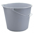 Plastic Pail, 10 qt, 9.5l, Graduated, Easy Pour & Clean
