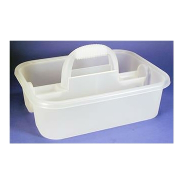 Tote, Utility Carrier, Opaque, Built-In Handle