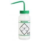 """Wash Bottle, LDPE, 500ml, """"Methanol"""""""