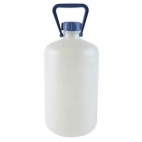 Carboy, 10L, Food Grade, HDPE, Nm, w/O-ring