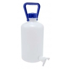 Carboy, 5L, Food Grade, HDPE, Nm, w/Spigot & O-ring