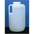 Bottle, 1 Gal, with Handle and Cap, HDPE