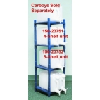 Stackrack System For Carboys, 5-shelf, Blue