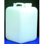 Carboy, 5Gal, Heavy-Duty, Square, No Spigot