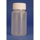 Coliform Sampling Bottle W/stb Ring Cap,pp,120ml,100/pk