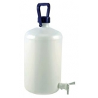 Carboy, 10L, Food Grade, HDPE, Nm, w/Spigot & O-ring