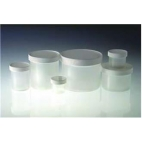 Jar & Lid, Pp, Wide Mouth, 16oz/480ml, Autoclavable