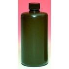 Rigid Amber Hdpe Narrow Mouth Bottle, 1000ml, Fda Food Grade