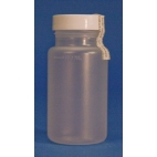 Coliform Sampling Bottle W/paper Tab,pp,120ml,100/pk