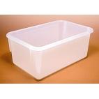 """Sterilizing/Autoclave Tote Box, PP, 19x10-1/4x5-1/8"""""""