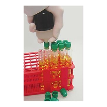 Capper For Applying Test Tube Plastic Caps
