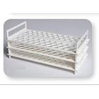 3-Tier Polypropylene Test Tube Rack, Holds 62-13mm Tubes
